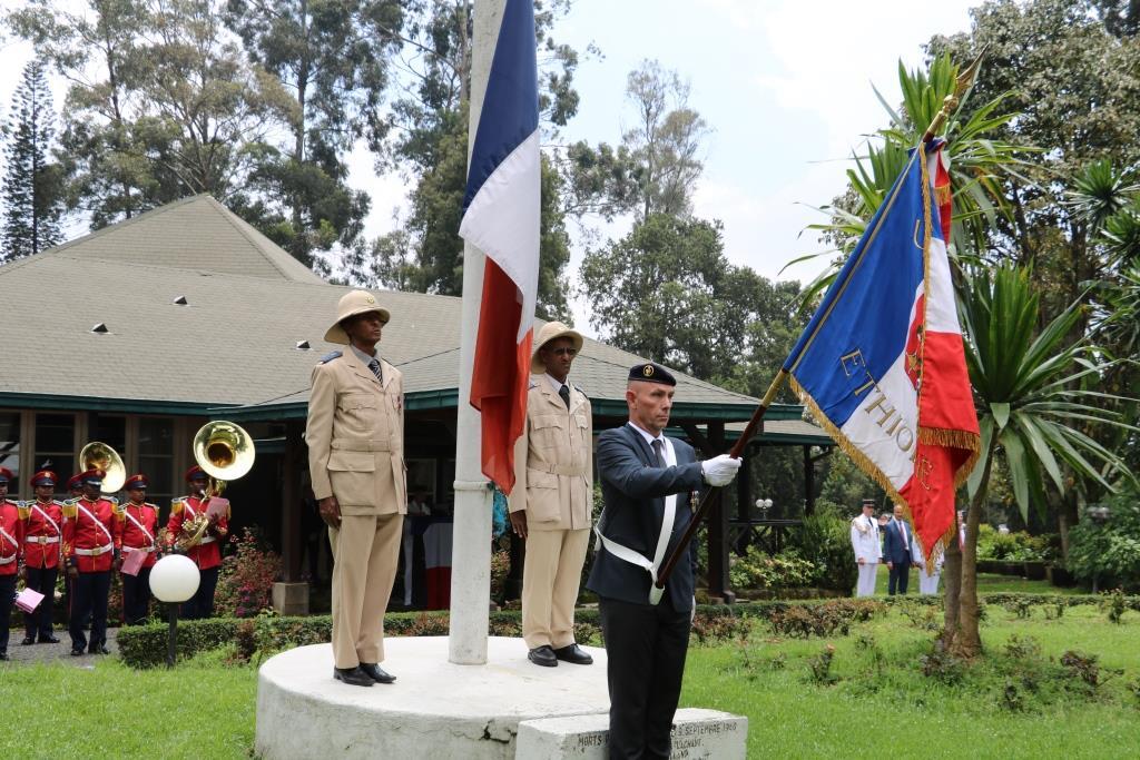 French-Ethiopian military cooperation ceremony - La France en Éthiopie