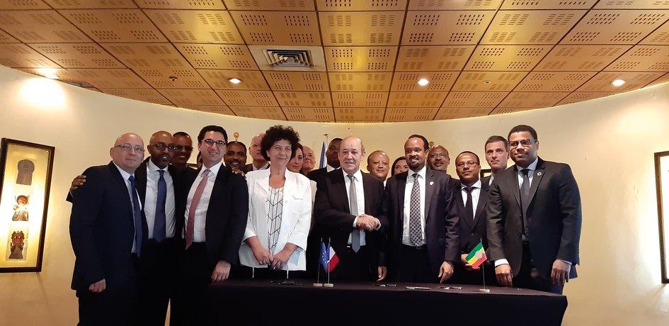 Seven franco-ethiopian agreements signed - La France en Éthiopie